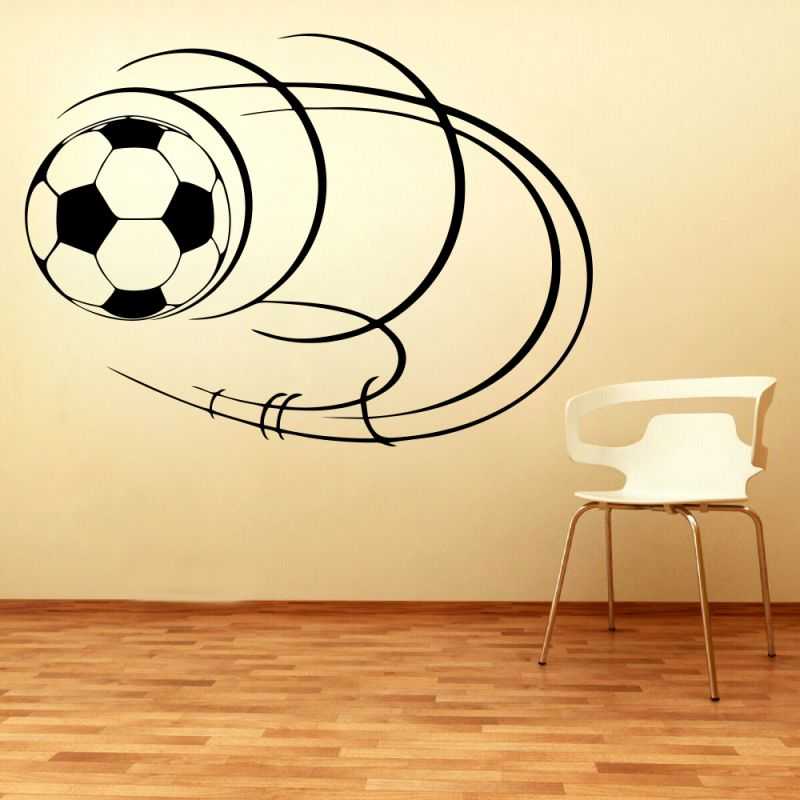 Buy Decor Kafe Decal Style Football Small Wall Sticker online