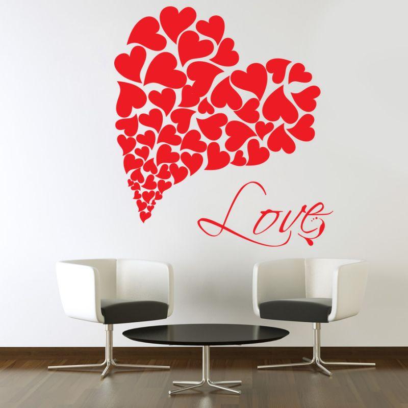 Buy Decor Kafe Decal Style Love Wall Sticker online