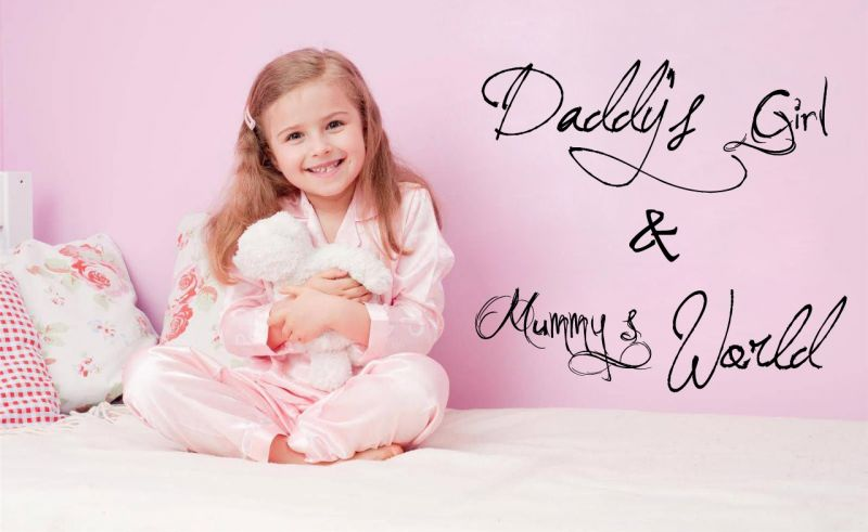 Buy Decor Kafe Decal Style Daddy & Mummy Wall Sticker online
