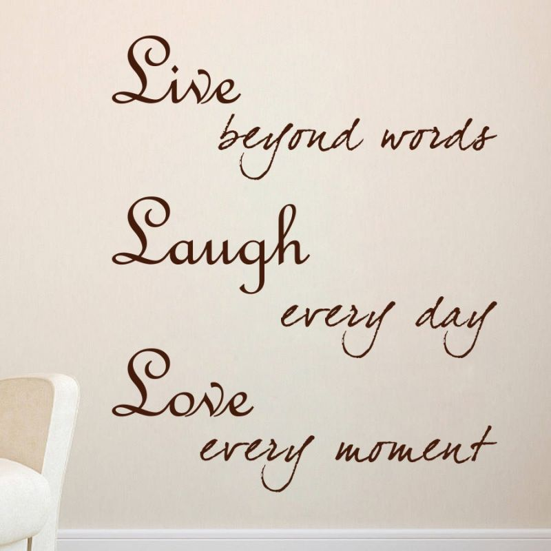 Buy Decor Kafe Live Laugh Love Wall Decal Online Part 91