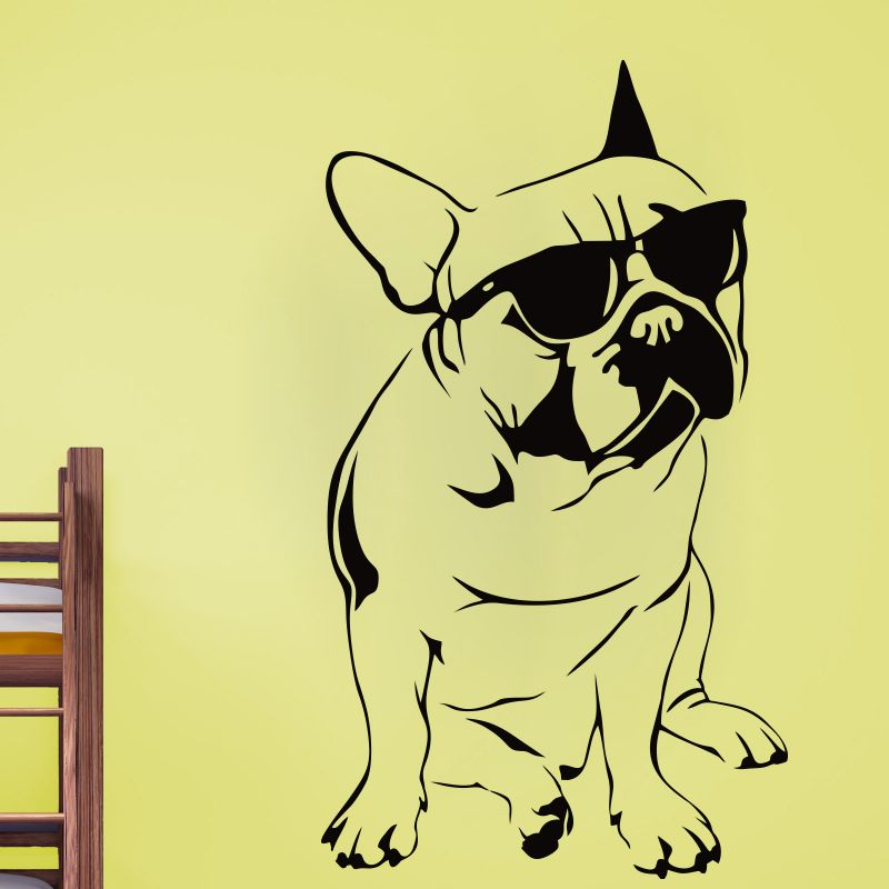 Buy Decor Kafe Decal Style Puppy Wall Sticker online