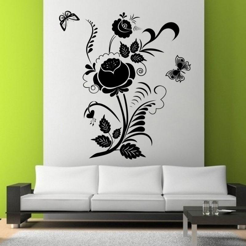 Buy Decor Kafe Decal Style Swirl Design Wall Sticker online