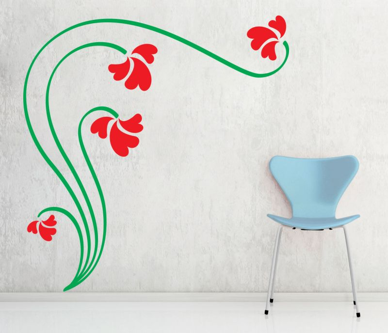 Buy Decor Kafe Decal Style Love Branch Wall Sticker online