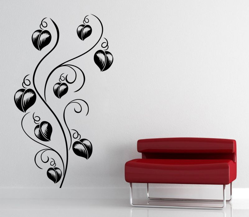 Buy Decor Kafe Decal Style Love Tree Wall Sticker online
