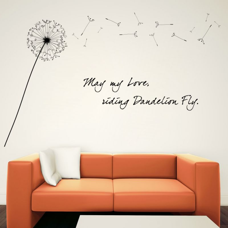 Buy Decor Kafe Decal Style May My Love Fly Wall Sticker online