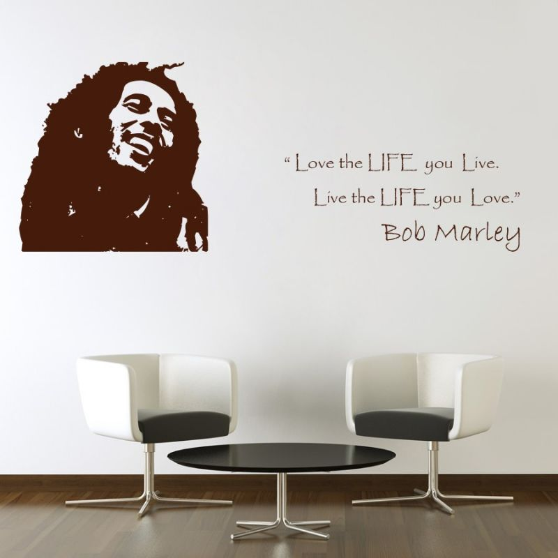 Buy Decor Kafe The Legend Bob Marley Wall Decal Online Part 41