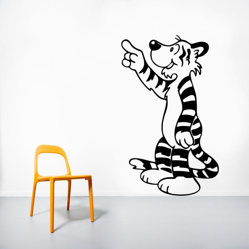 Buy Decor Kafe Decal Style Tiger Wall Sticker online