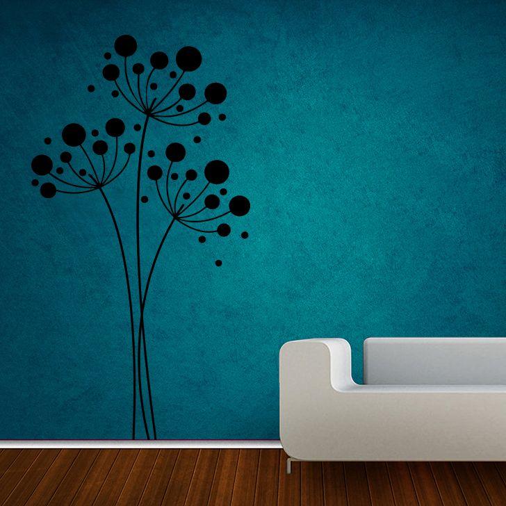 Buy Decor Kafe Decal Style Dandelion Tree Large Wall Sticker online