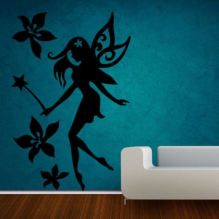 Buy Decor Kafe Decal Style Fairy Medium Wall Sticker online