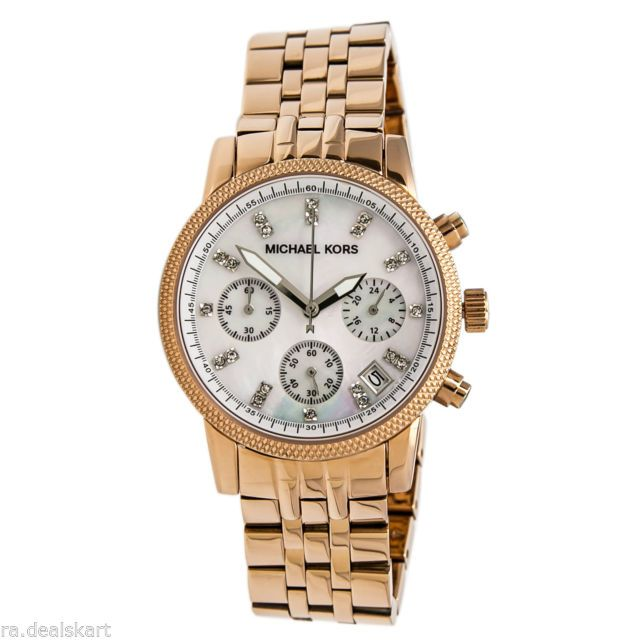 Buy Michael Kors Watches Ladies Gold Blair (gold) online