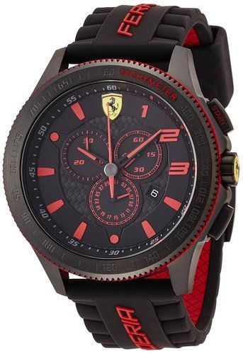 Buy Ferrari Misplay Quartz Black Watch online