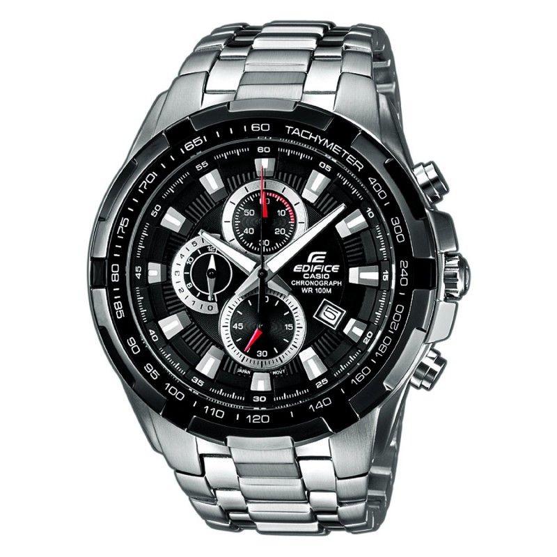 74f0de1e980a6e Buy Casio 539 Black Dial Silver Chain Watch For Men Online | Best ...