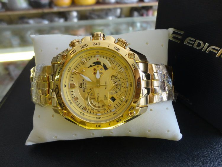 casio gold watches for men best watchess 2017 casio 550 full gold chain watch for men best s