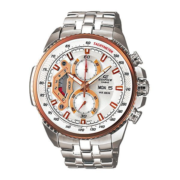 buy casio 558 white and copper dial silver chain watch for buy casio 558 white and copper dial silver chain watch for men online best prices in rediff shopping