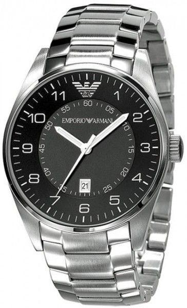 Buy Imported Emporio Armani Ar5863 R Stainless Black Dial - Men