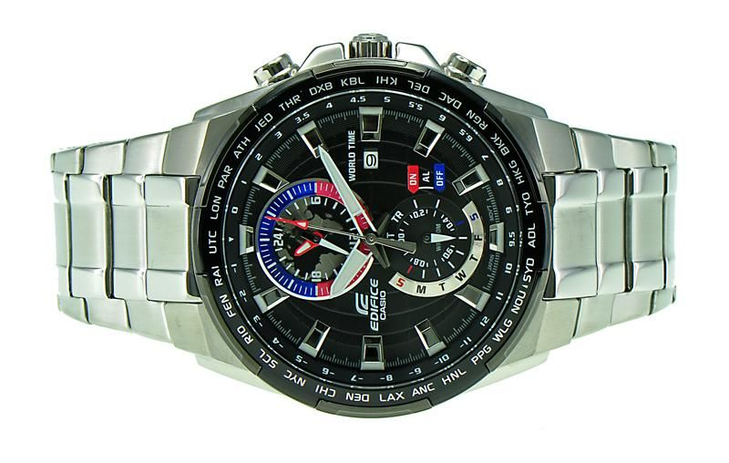 Imported Casio Edifice Efr-550d-1avudf (ex262)chronograph Men s Watch. 70% b004914477