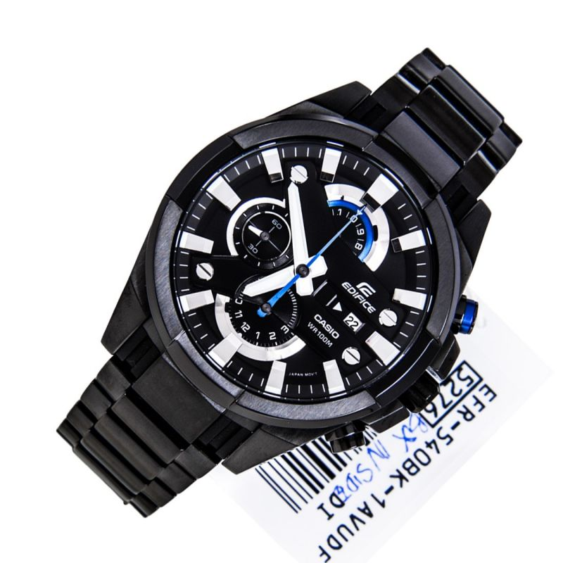 Buy Imported Casio Edifice Full Black New Arrival online