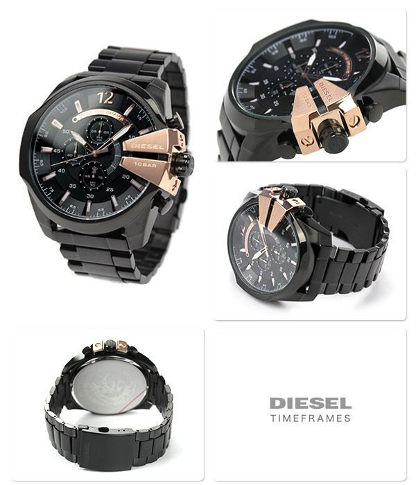 Buy Imported Mens Diesel Mega Chief Chronograph Watch online
