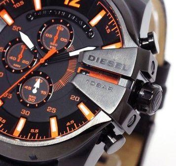 01529b6461d Buy Diesel The Daddie Analog Chronograph Grey Dial Watch For Men Online