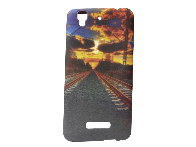 Buy Kelpuj Multicolor Mobile Back Cover For Micromax Yu Yureka Aq5510 online