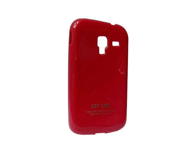 Buy Kelpuj Red Mobile Back Cover For Samsung Galaxy Ace 2 (gt-i8160) online