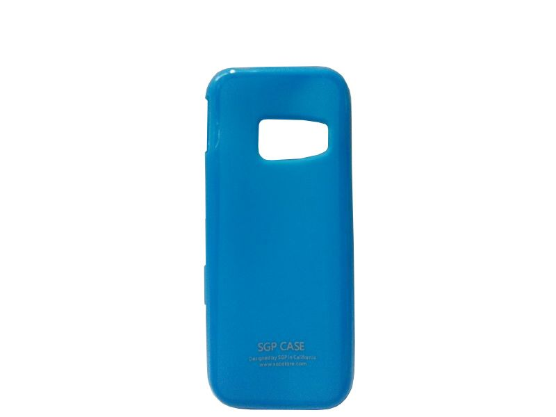 Buy Sgp Blue Mobile Back Cover For Samsung Metro C3322 online