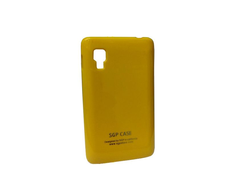 Buy Sgp Yellow Mobile Back Cover For LG Optimus L5 II E460 online