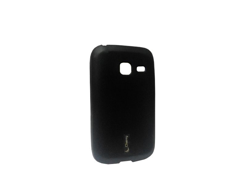 Buy Kelpuj Black Mobile Back Cover For Samsung Galaxy Y Duos S6102 online