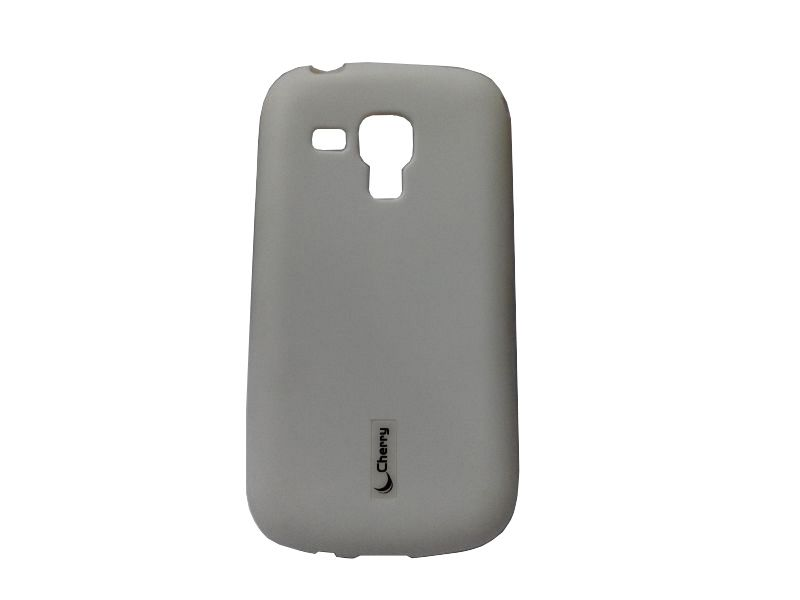 Buy Kelpuj Black Mobile Back Cover For Samsung Galaxy S Duos S7562 online