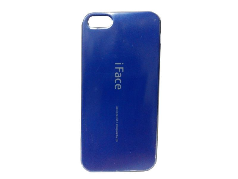 Buy Rubber Back Cover For iPhone 5 5g 5s-blue (design 3) online