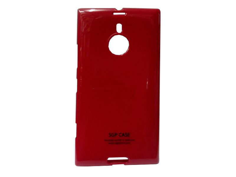 Buy Rubber Back Cover For Nokia Lumia 1520-red (design 2) online