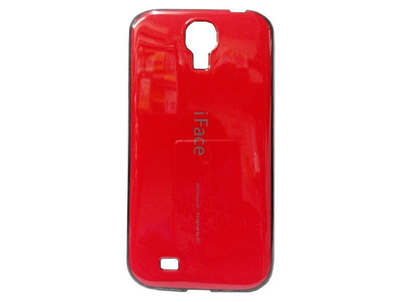 Buy Rubber Back Cover For Samsung Galaxy S4-red (design 1) online