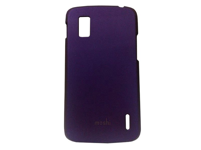 Buy Kelpuj Purple Mobile Back Cover For LG Google Nexus 4 online