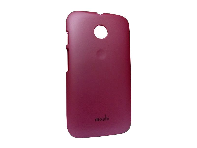 Buy Kelpuj Pink Mobile Back Cover For Motorola Moto E online