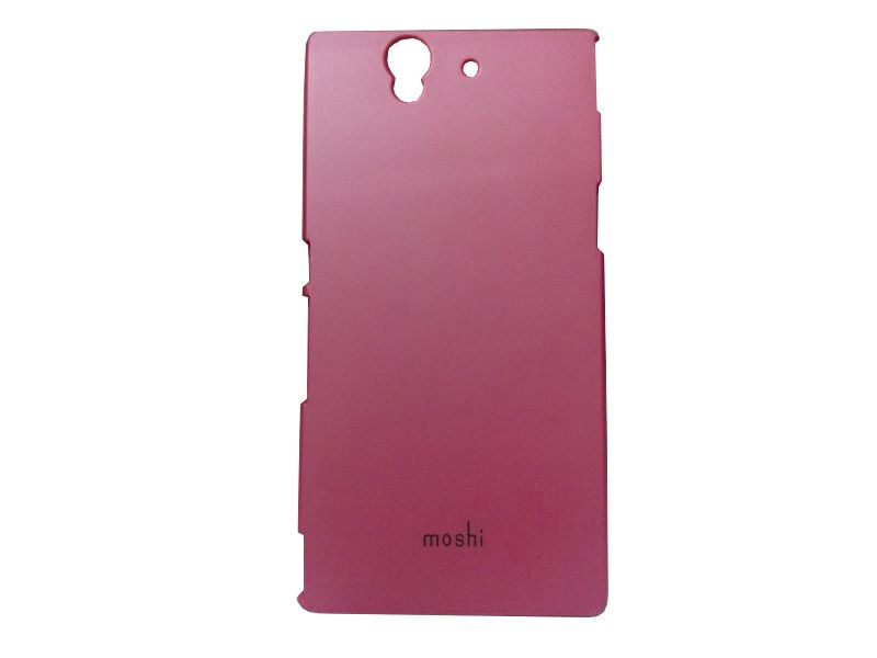 Buy Kelpuj Pink Mobile Back Cover For Sony Xperia Z online