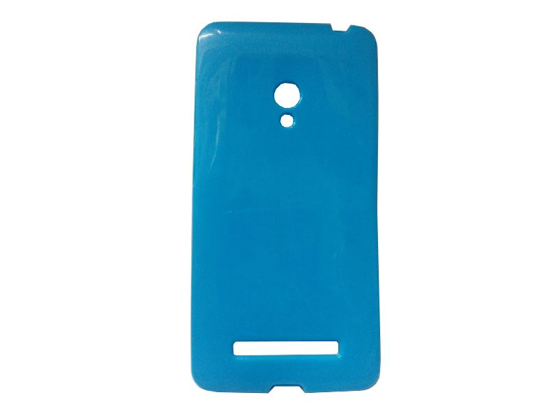 Buy Kelpuj Blue Mobile Back Cover For Asus Zenfone 5 online