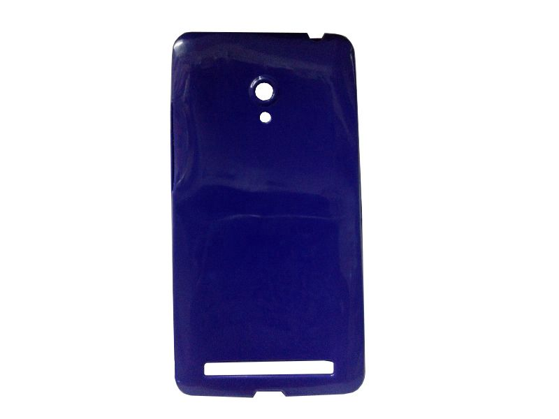 Buy Kelpuj Purple Mobile Back Cover For Asus Zenfone 6 online