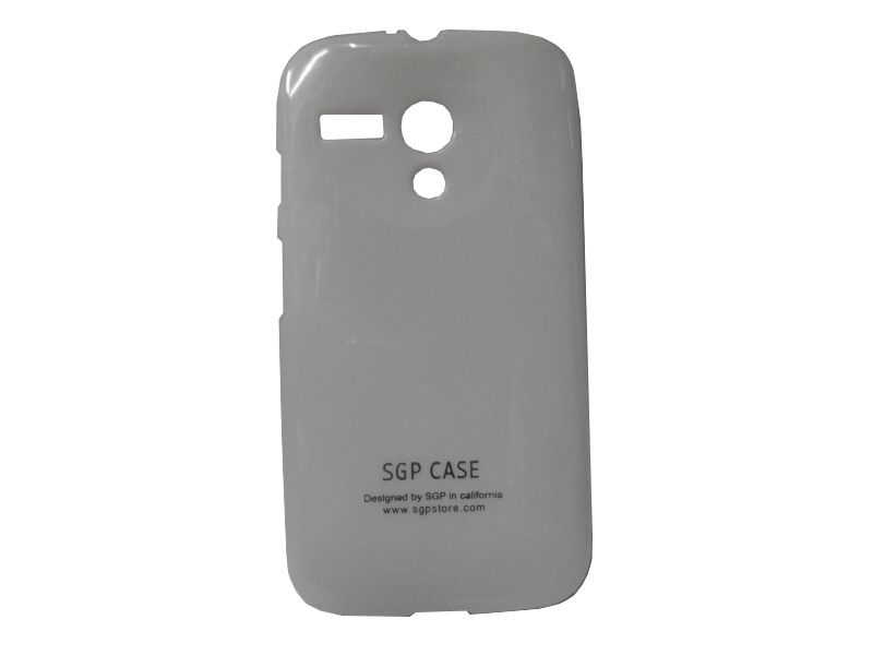 Buy Sgp White Mobile Back Cover For Motorola Moto G online