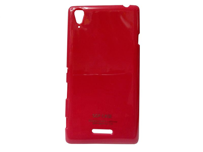 Buy Kelpuj Red Mobile Back Cover For Sony Xperia T3 D5103 online