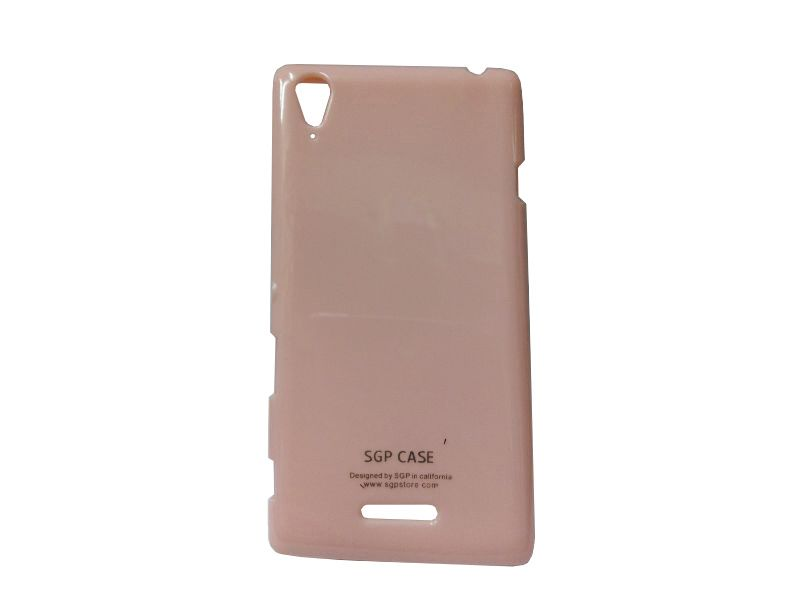 Buy Kelpuj Pink Mobile Back Cover For Sony Xperia T2 online