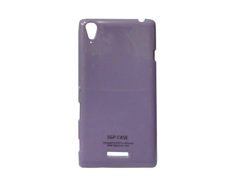Buy Kelpuj Purple Mobile Back Cover For Sony Xperia T3 D5103 online