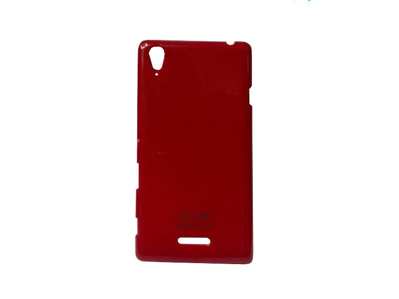 Buy Kelpuj Maroon Mobile Back Cover For Sony Xperia T2 online