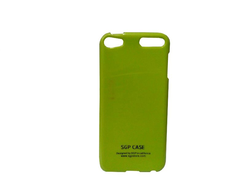Buy Kelpuj Green Mobile Back Cover For Apple iPod Touch 5 online