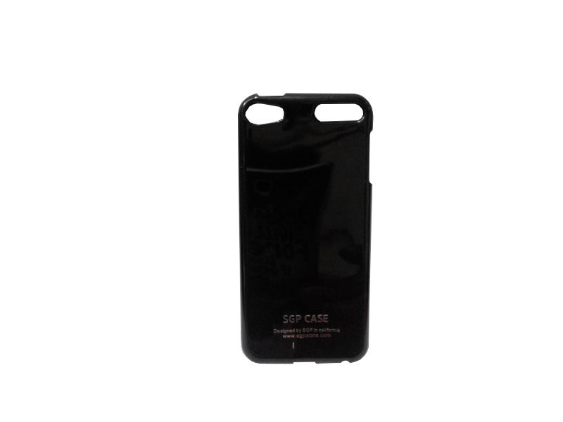 Buy Kelpuj Black Mobile Back Cover For Apple iPod Touch 5 online