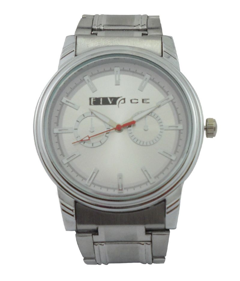 Buy Elvace Silver Bloom Men Watches - (product Code - 502) online
