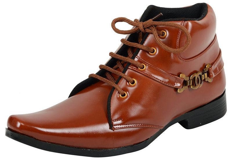 Buy Elvace Tan Men Boot online