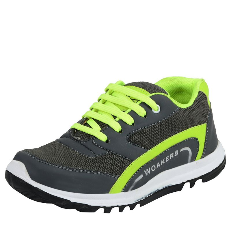 Buy Elvace Grey Running Shoe For Men (code- 8034) online