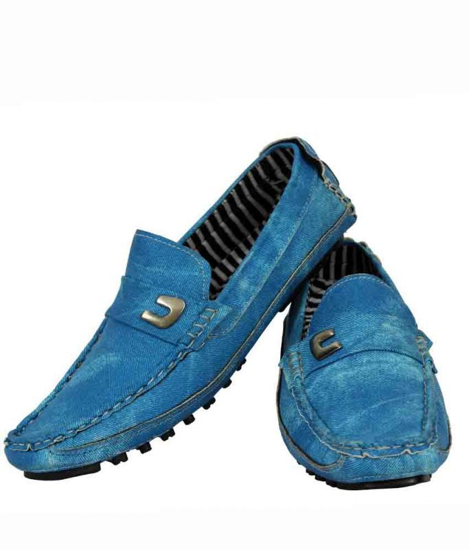 Buy Elvace Loafer Men Shoes Zara Blue-6006 online
