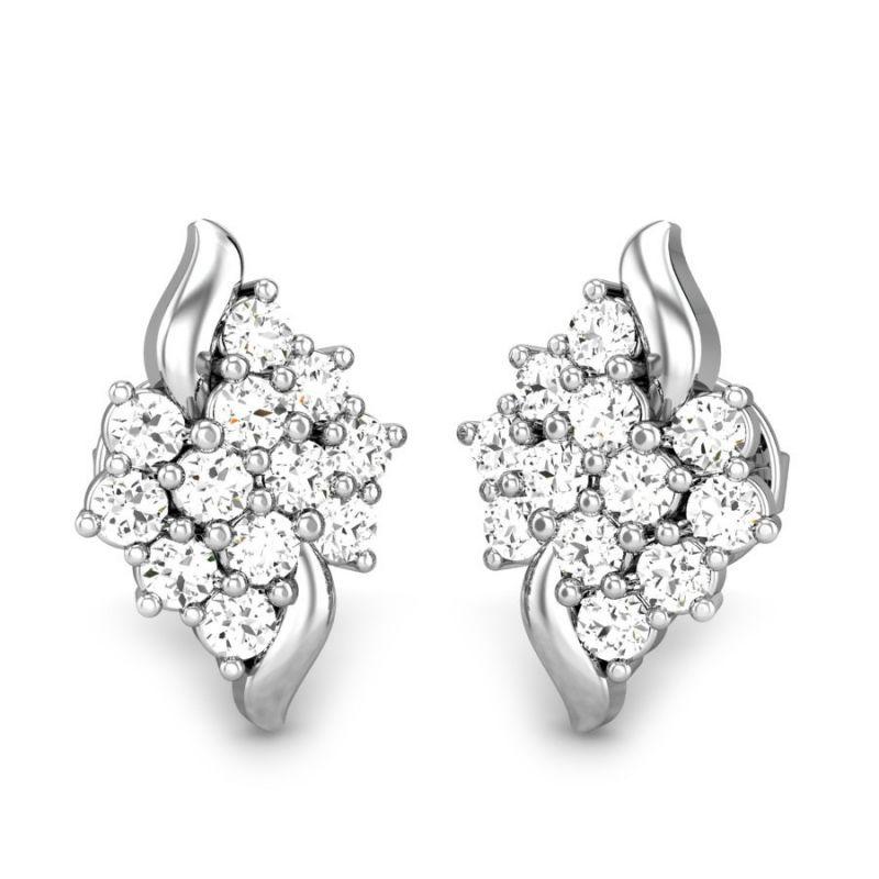 Buy Sheetal Diamonds 0.60tcw Real Round Diamond Stud Earring E0263-14k online