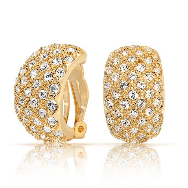 Buy Sheetal Diamonds 0.80tcw New Fashionable Real Round Diamond Earring E0398-18k online